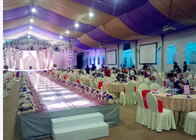 Aluminum Alloy Structure White Popular Wedding Party Tent Marquee Double PVC Coated