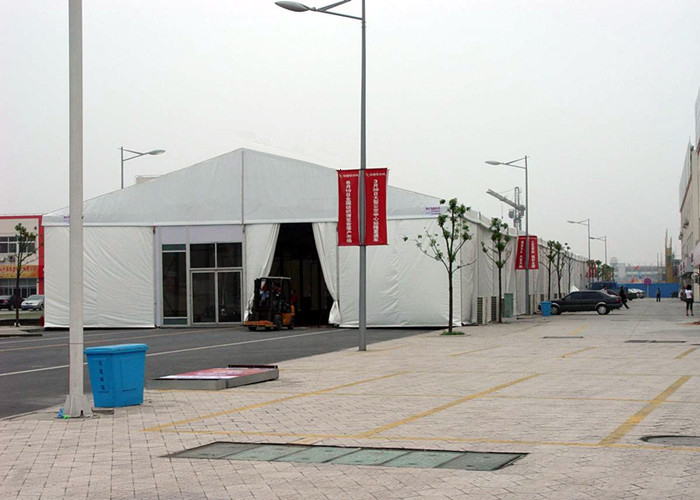 Portable Aluminum Frame Outdoor Event Tent For Workshop / Trade Show Exhibition