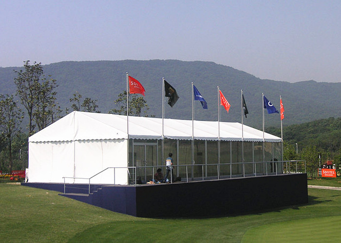 200 Seater Movable Restaurant Marquee Event Tent , Heavy Duty Garden Party Tent