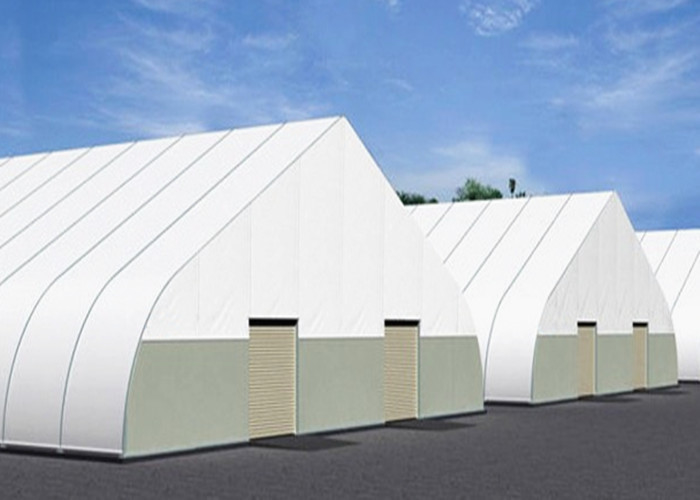 TFS Special Shape Industrial Warehouse Canopy Tent Double PVC Coated Fabric