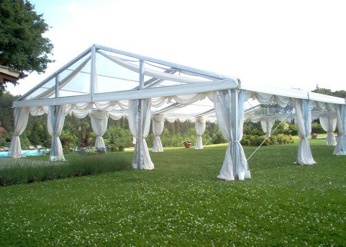 Fire Retardant Beautiful Marquee Party Tent , New Design Clear Wedding Marquee